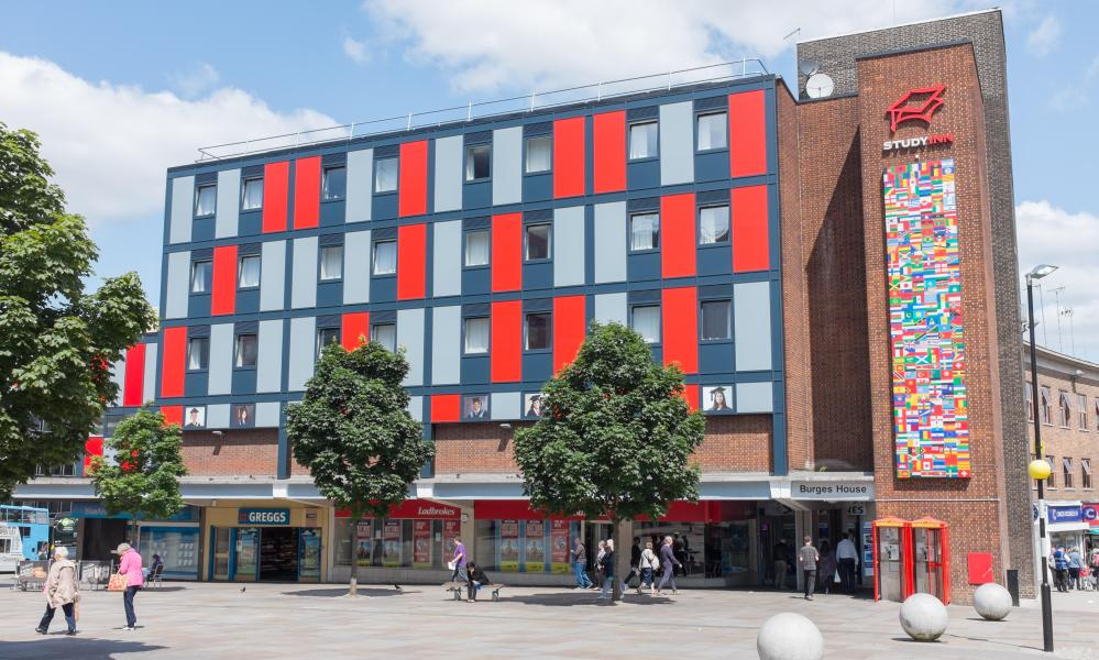 Study Inn student accommodation in Ironmonger Row, Coventry.