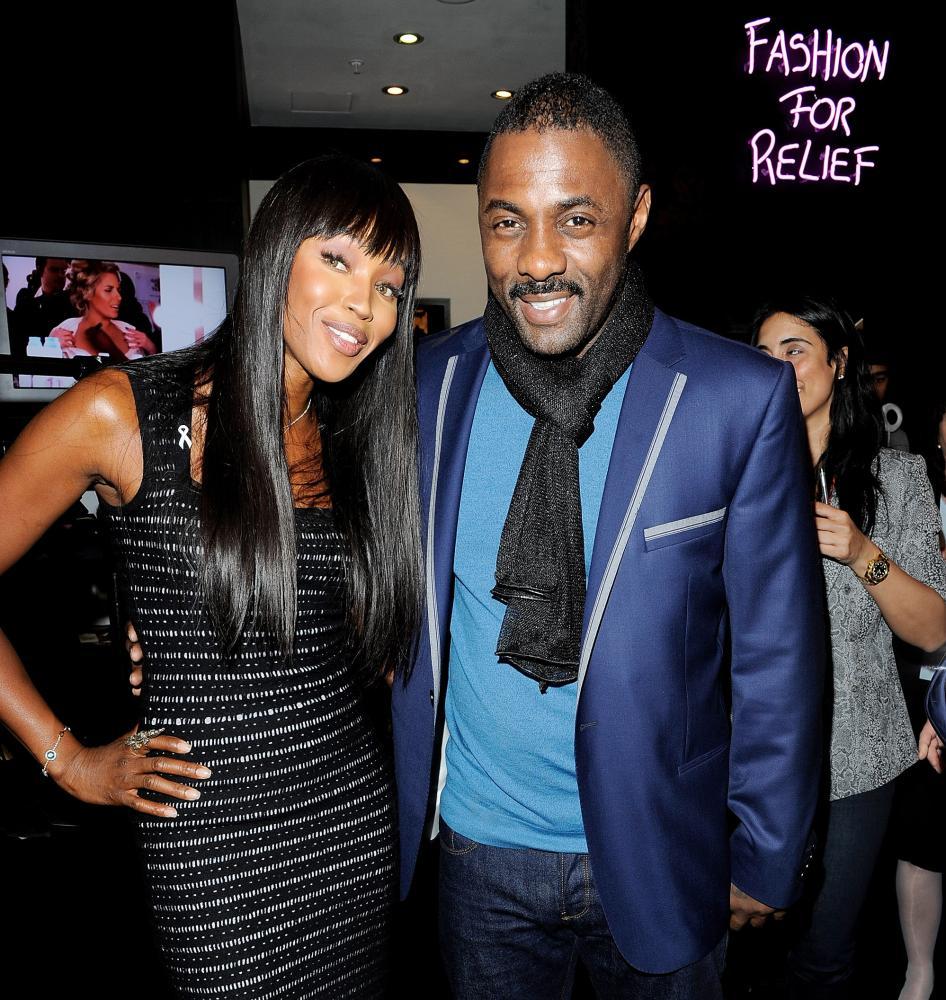 Idris Elba Naomi Campbell