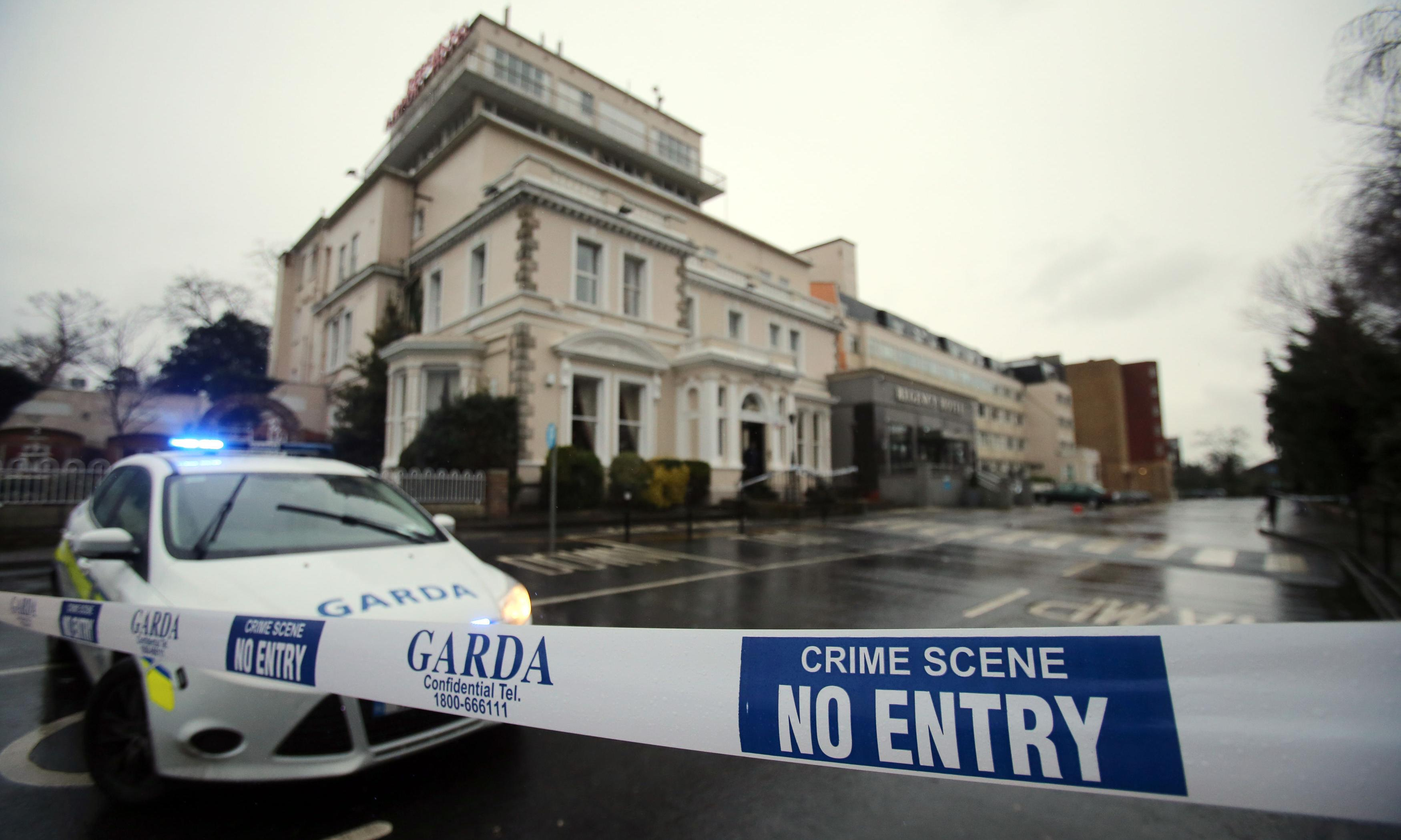 Dublin Regency hotel shooting: one of six-strong gang 'was dressed as a woman'