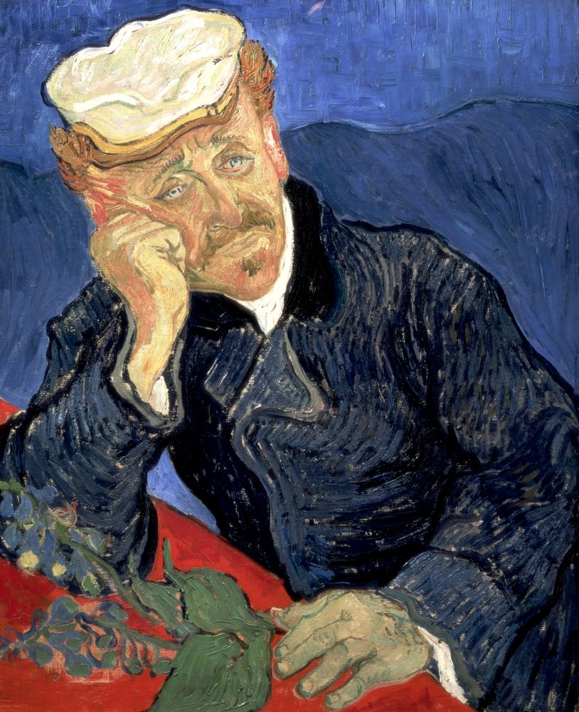 Portrait of Dr Gachet, 1890 by Vincent van Gogh