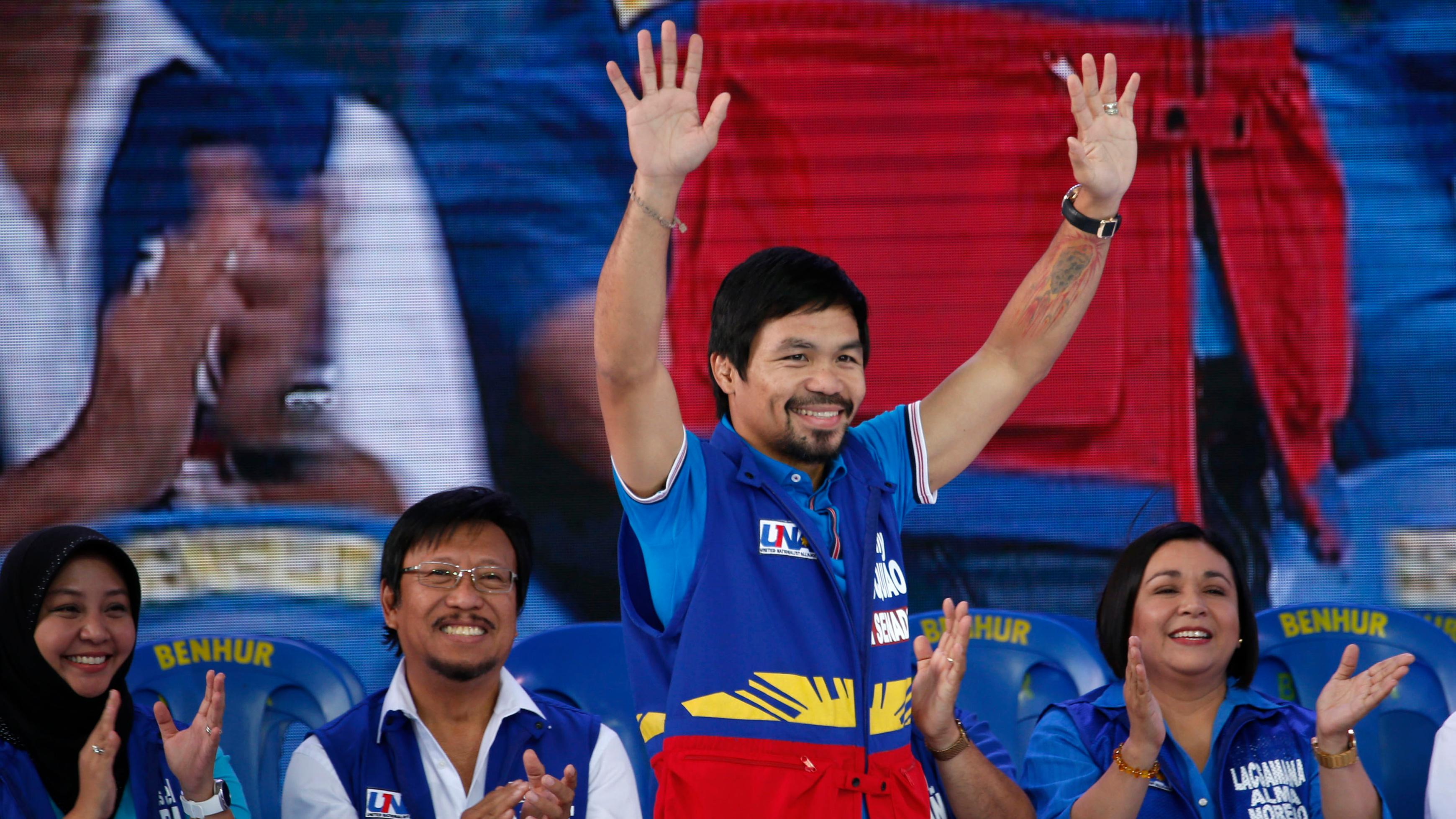 Manny Pacquiao's Nike contract terminated after homophobic slurs