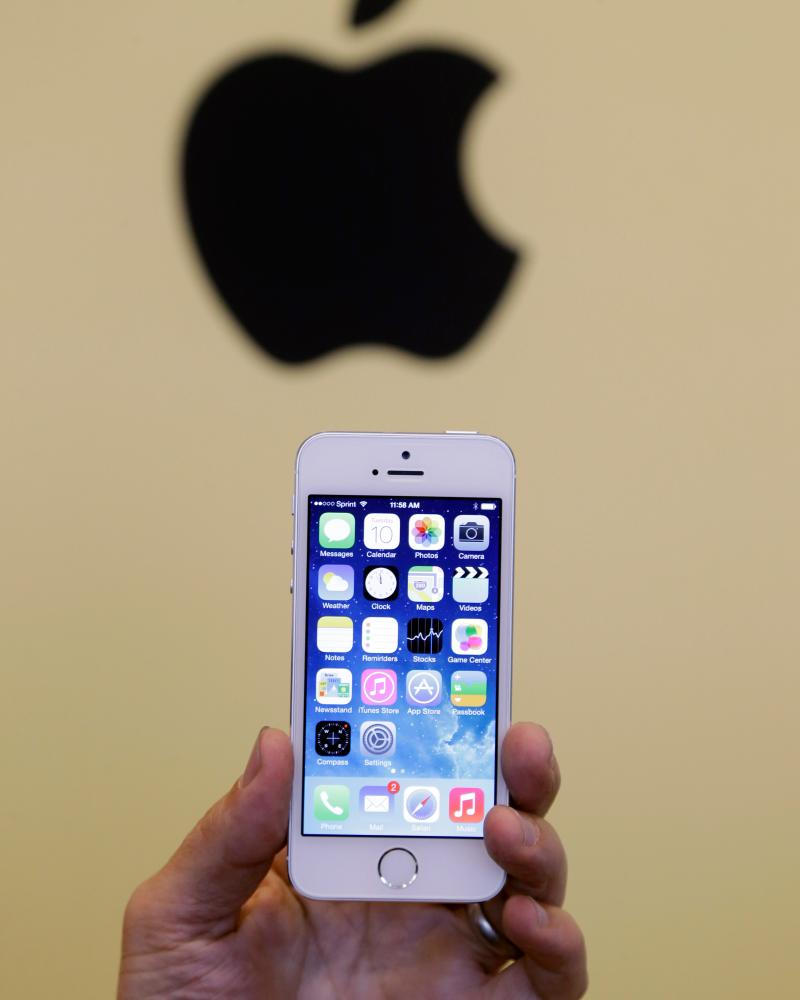 The iPhone 5S, launched in 2013