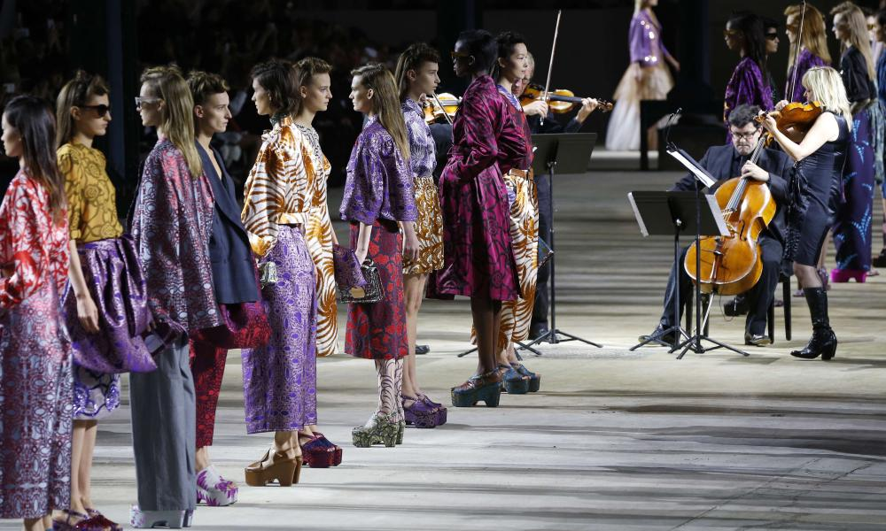 The Dries Van Noten show
