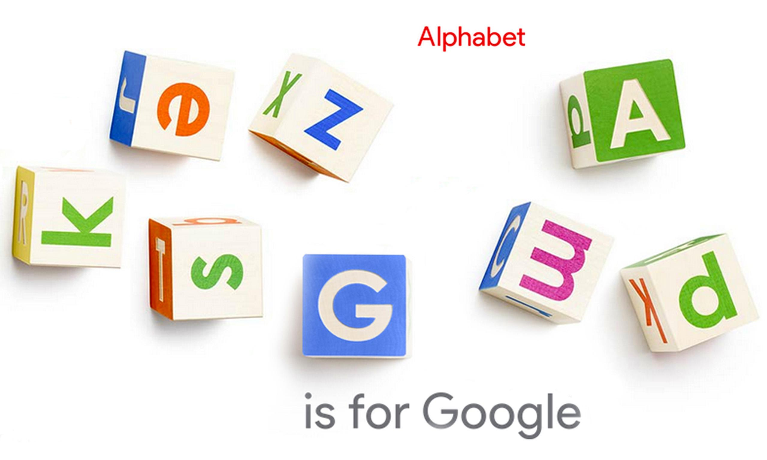 Why Google is restructuring, why the name Alphabet and how it affects you