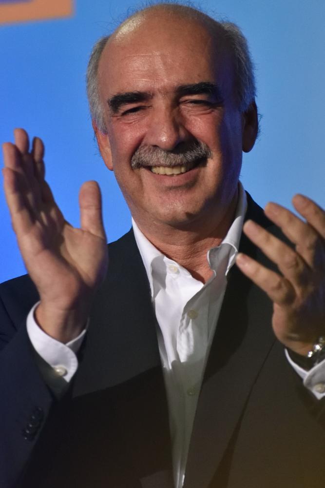 Vangelis Meimarakis, leader of New Democracy.