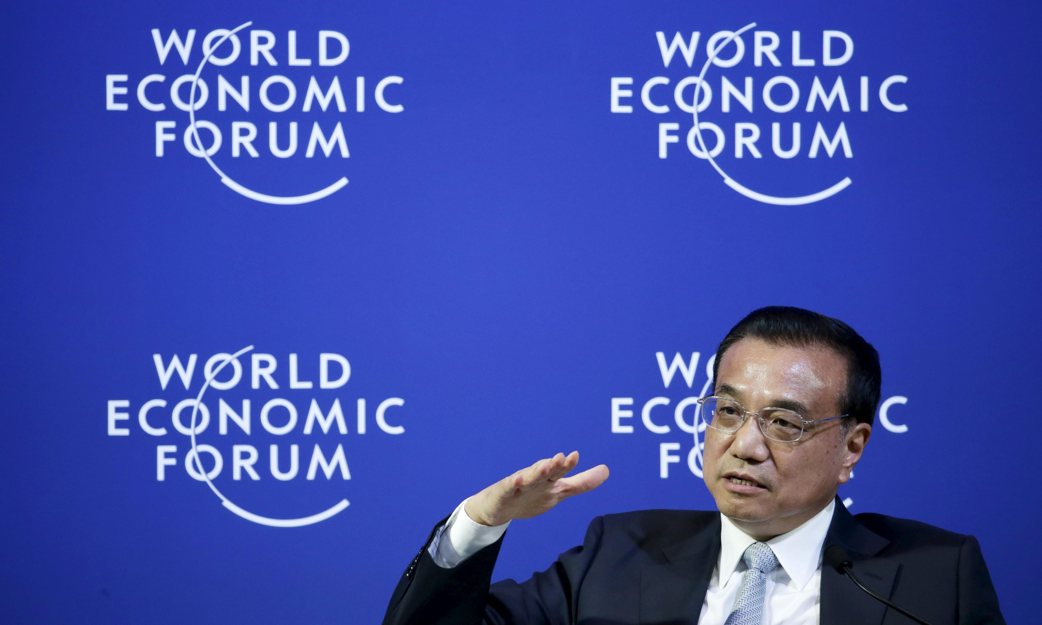 Chinese economy is under pressure but will not slump, says premier Li Keqiang