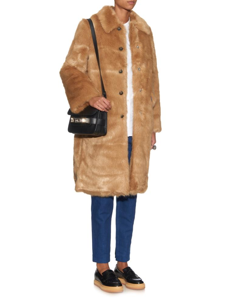 Trademark faux fur coat, £336.