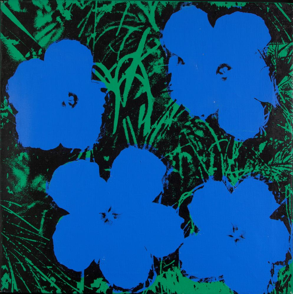 Flowers, 1978, by Andy Warhol