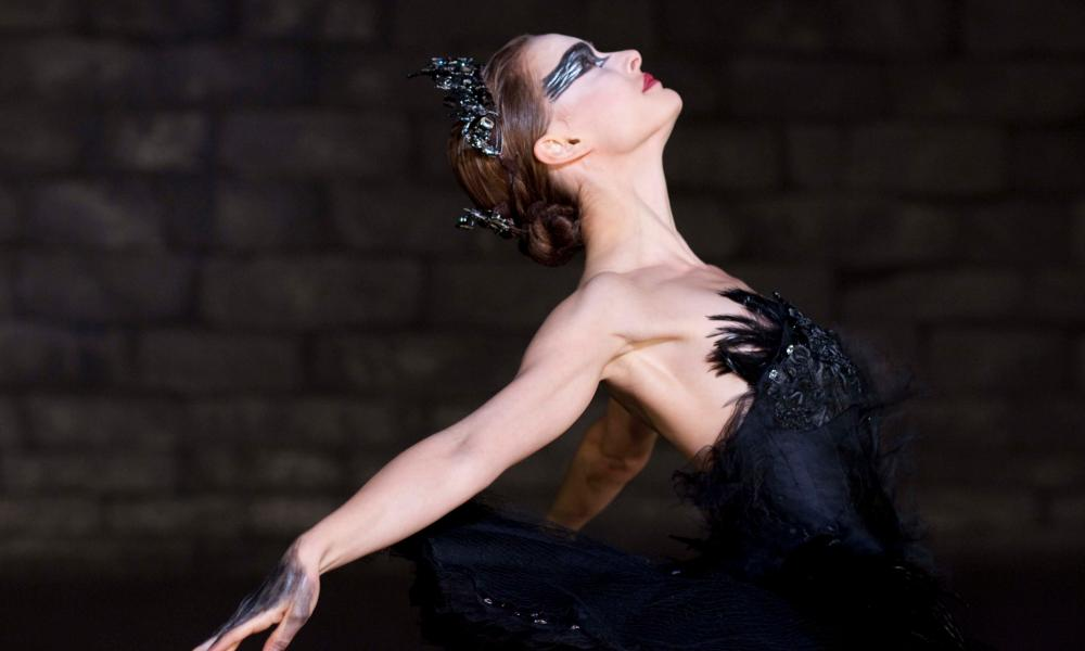 Natalie Portman wearing a Rodarte costume in Black Swan.