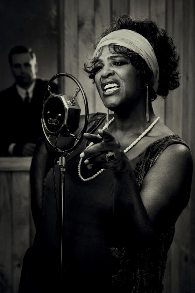 Sharon D Clarke in Ma Rainey's Black Bottom.
