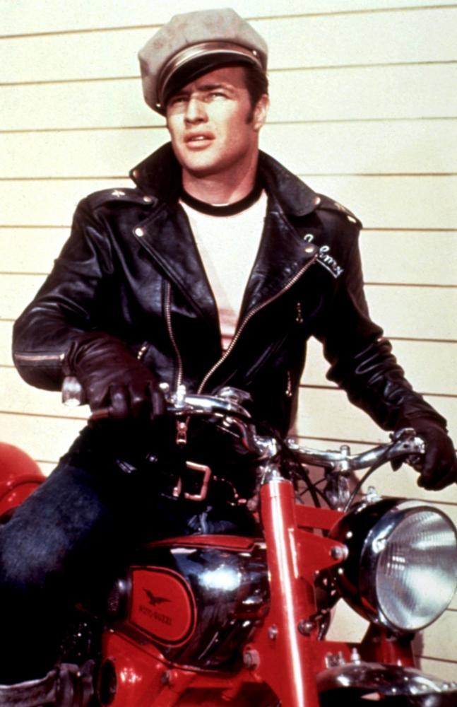 Marlon Brando in The Wild One (1953).