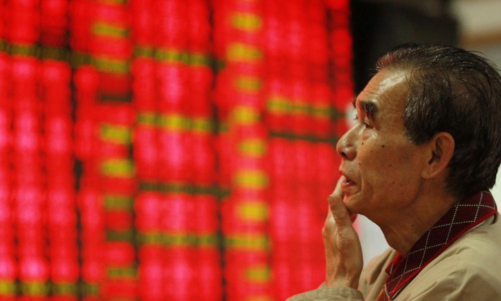 China's volatile stock market.