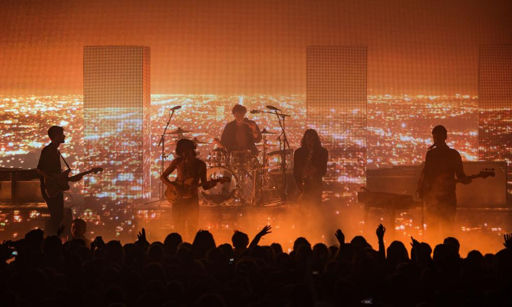 Big noise … the 1975 in concert