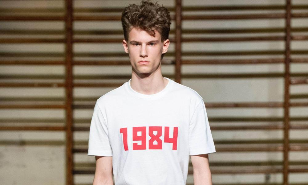 Gosha Rubchinskiy '1984' T-shirt