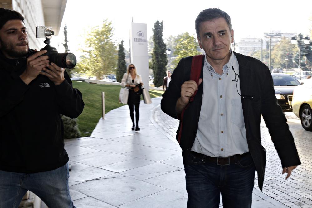 Greece's finance minister, Euclid Tsakalotos