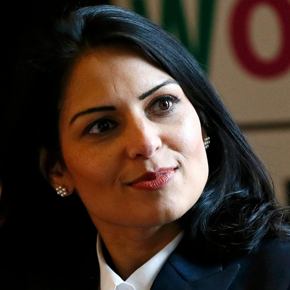 Minister of State for Employment Priti Patel.