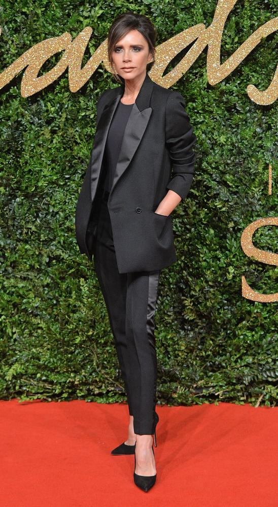 Victoria Beckham at the British Fashion Awards 2015