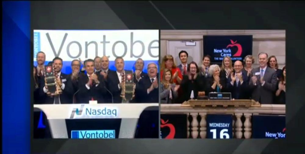 Wall Street opening bell