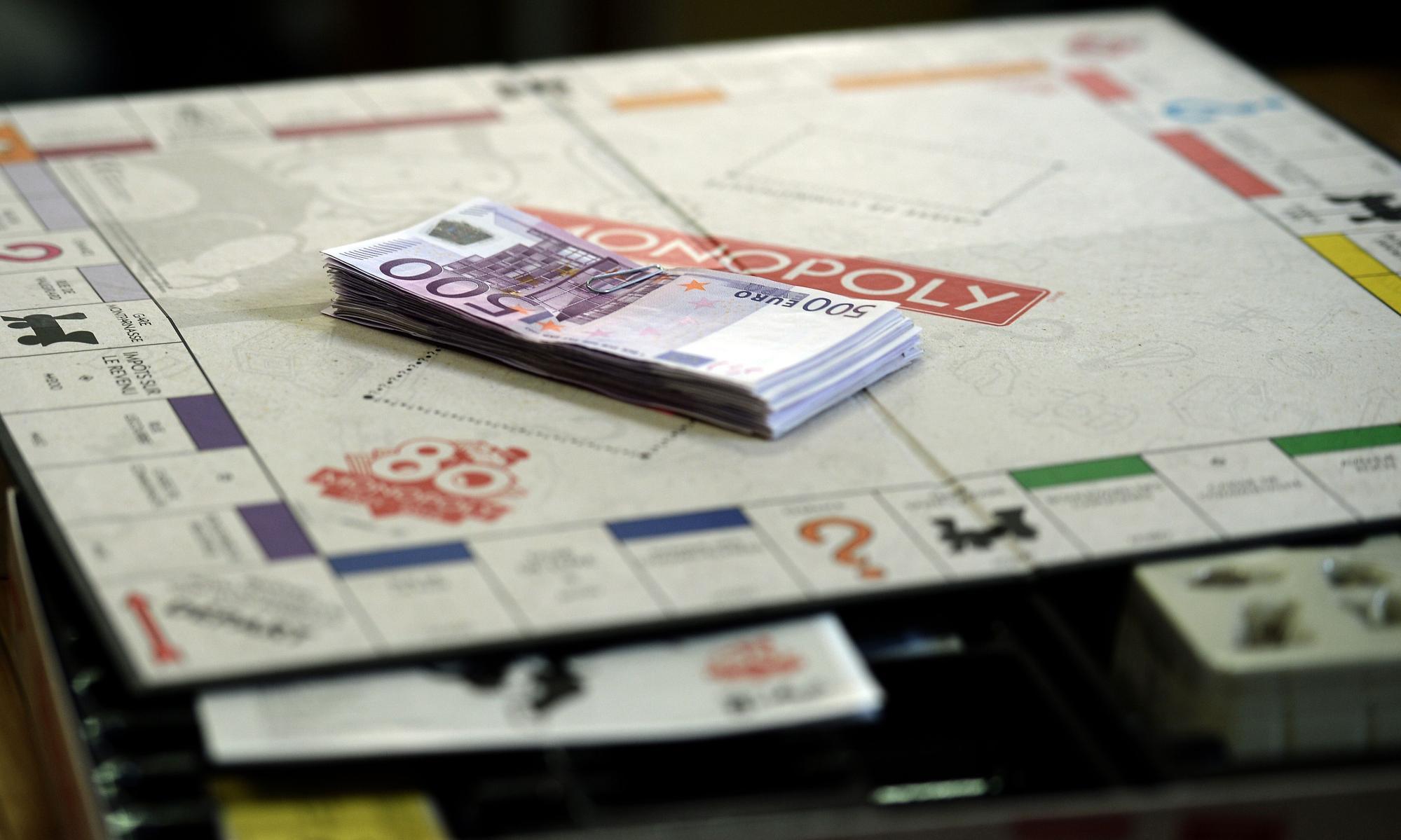 real money monopoly money