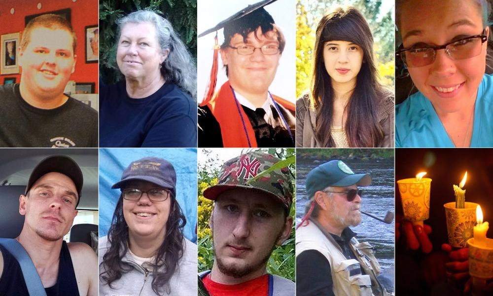 The victims of the Oregon community college shooting