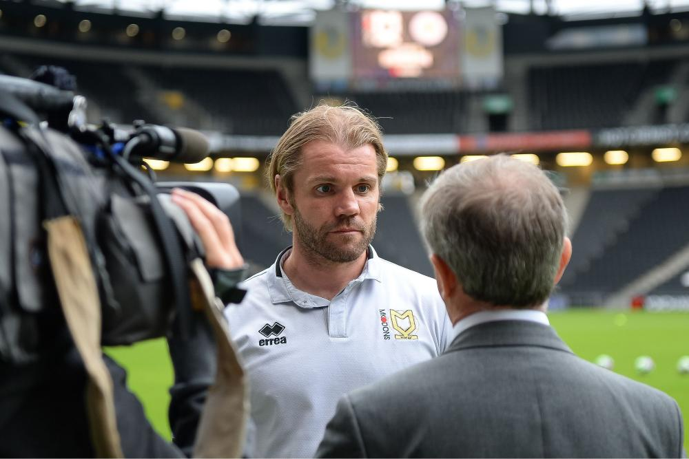 Robbie Neilson will be hoping to build on his first season in charge of MK Dons.