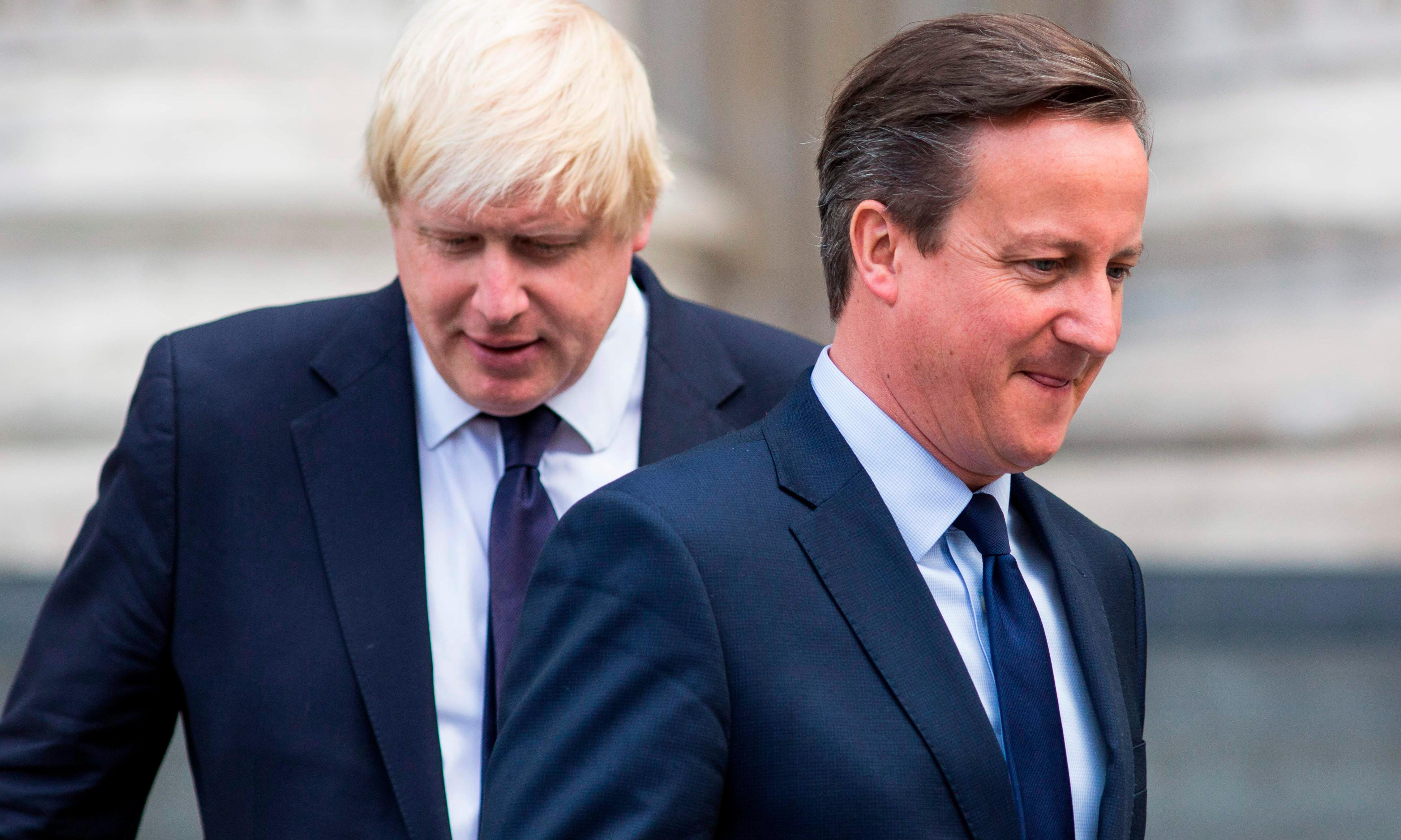 'Johnson is a liar who only backed Leave to help his career' – David Cameron