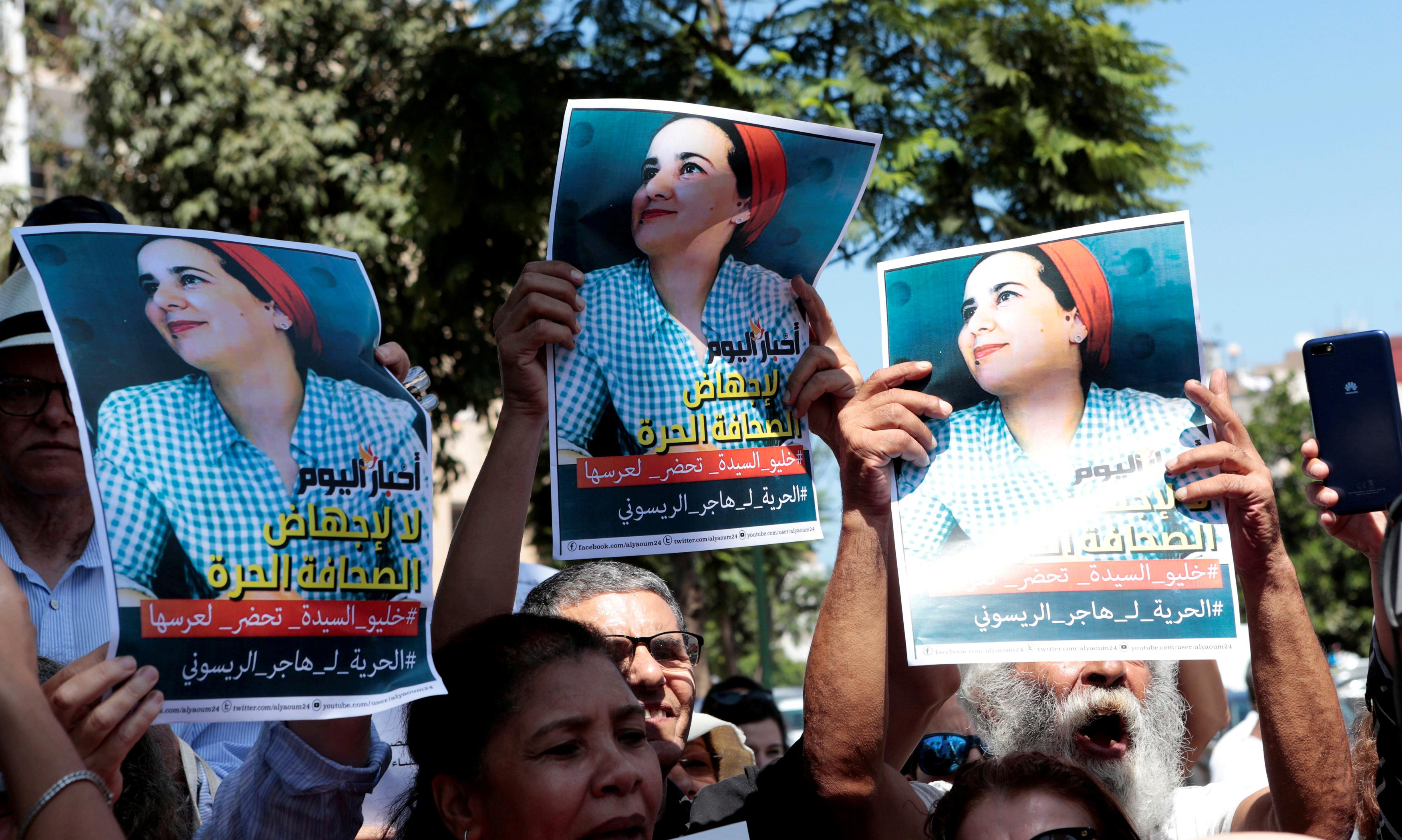 Moroccan journalist jailed for 'illegal abortion' pardoned by king