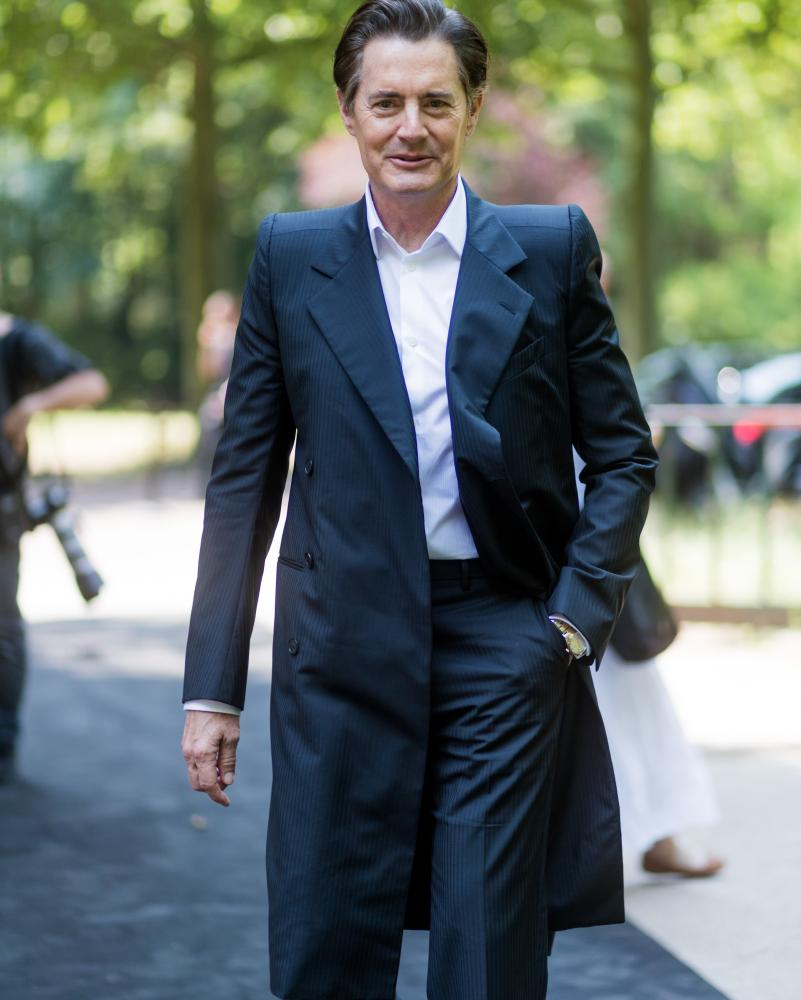 Actor Kyle MacLachlan congratulated the creative director.