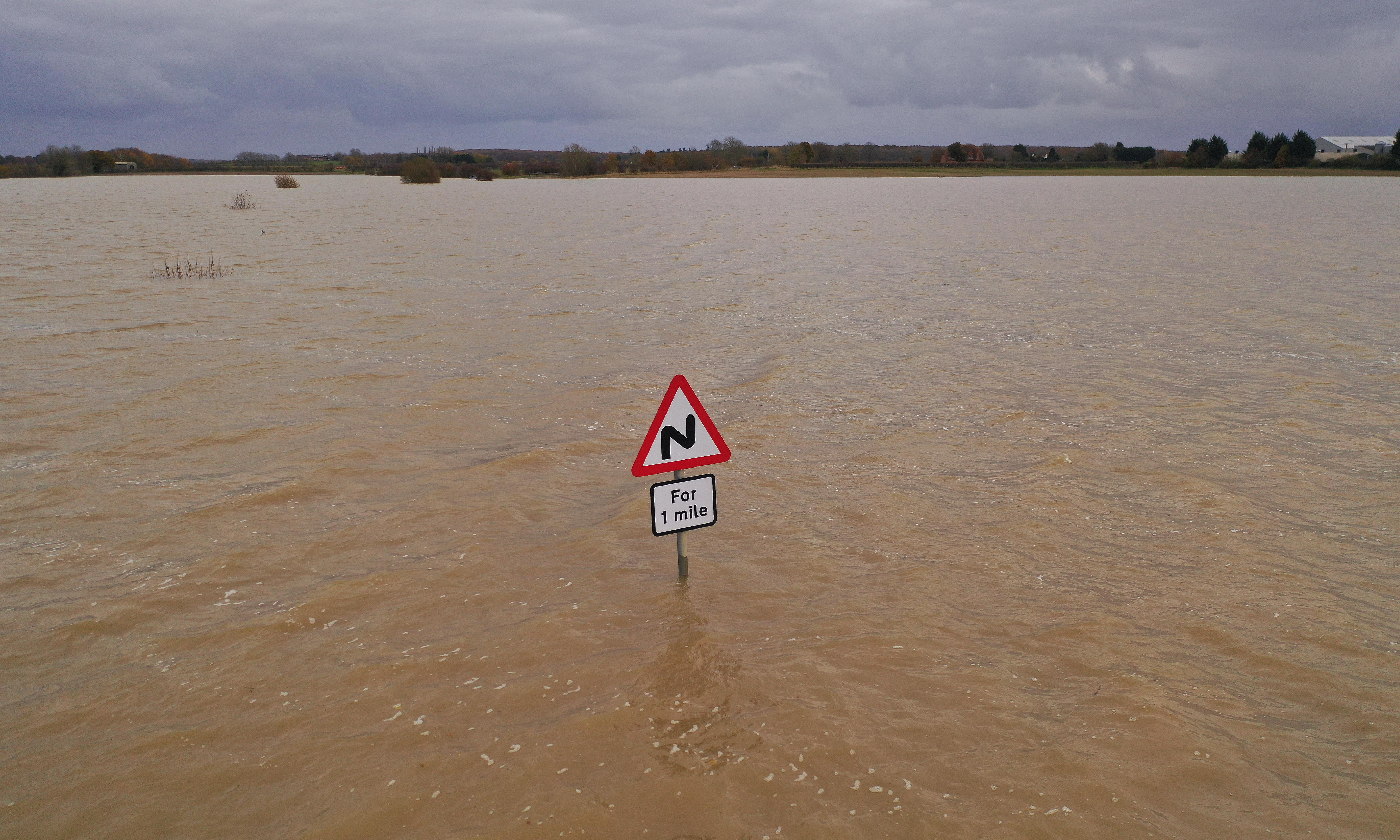 Food prices set to rise in UK as floods ruin crops