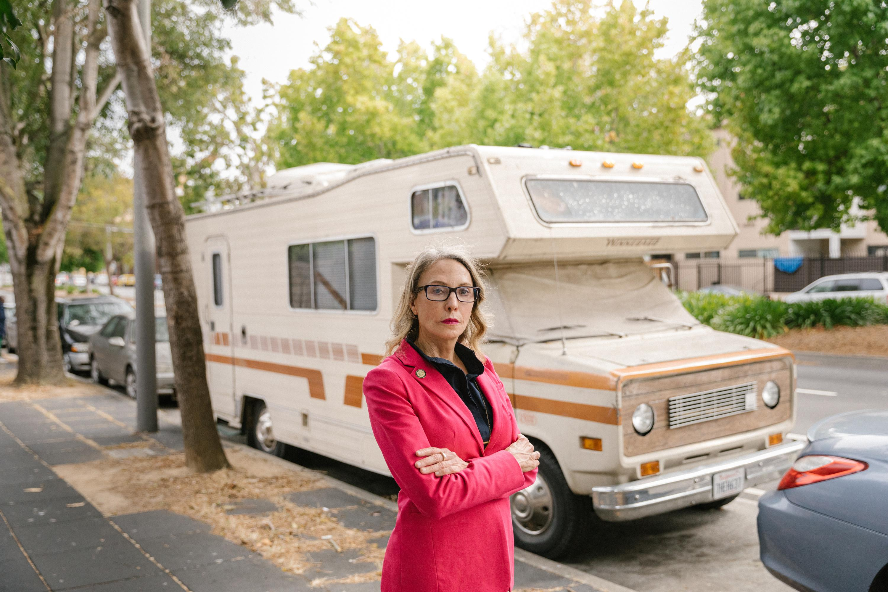The Californians forced to live in cars and RVs