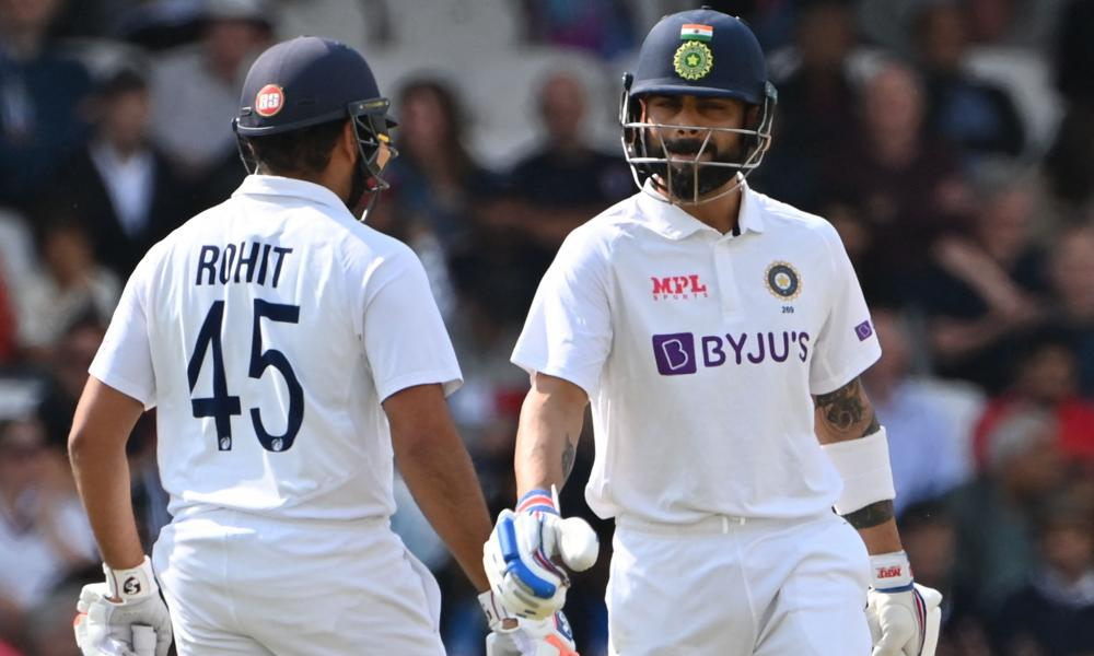 Virat Kohli and Rohit Sharma in the middle at Headingley where England bounced back following a defeat earlier in the series.