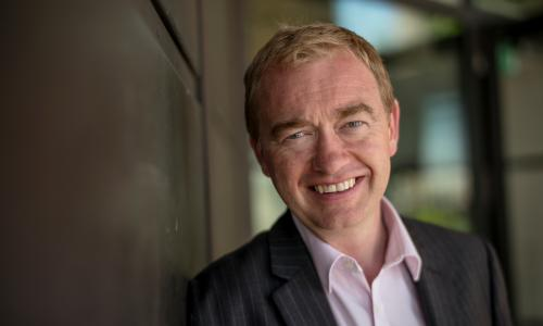 Tim Farron, the Lib Dem leader