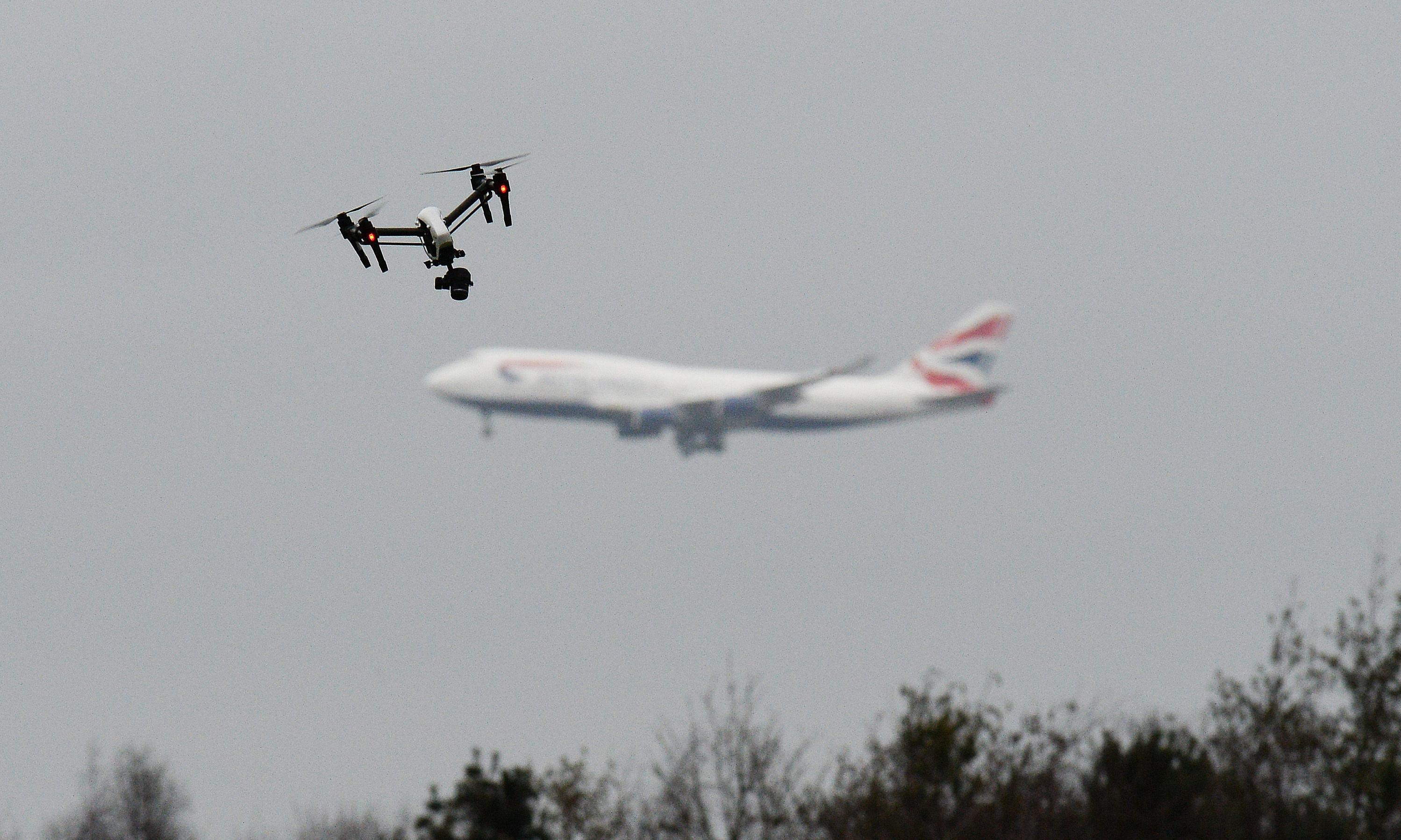 Flights delayed as drones fly near East Midlands airport