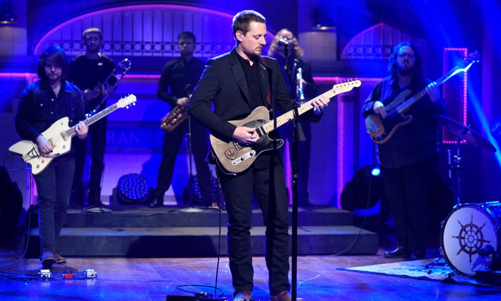 The 59th grammys performances winners and red carpet Sturgill simpson grammy performance
