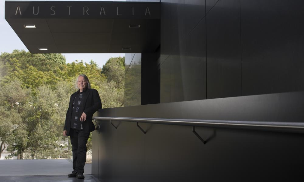 John Denton, architect, at the Australian pavilion at the Venice Biennale 2015