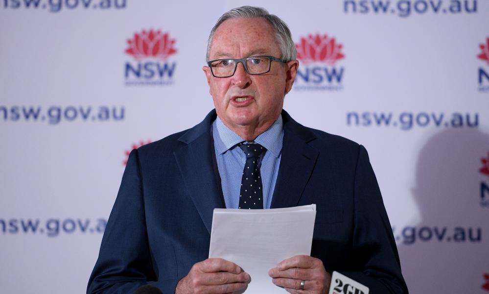 The NSW health minister, Brad Hazzard, reported 1,599 new Covid cases and eight deaths, one day after premier Gladys Berejiklian said the daily press conferences would come to an end.