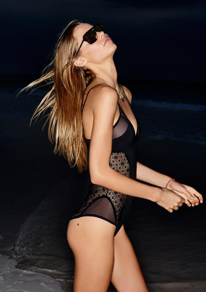 That 80s classic, the 'body' is a staple of Elle Macpherson's new range