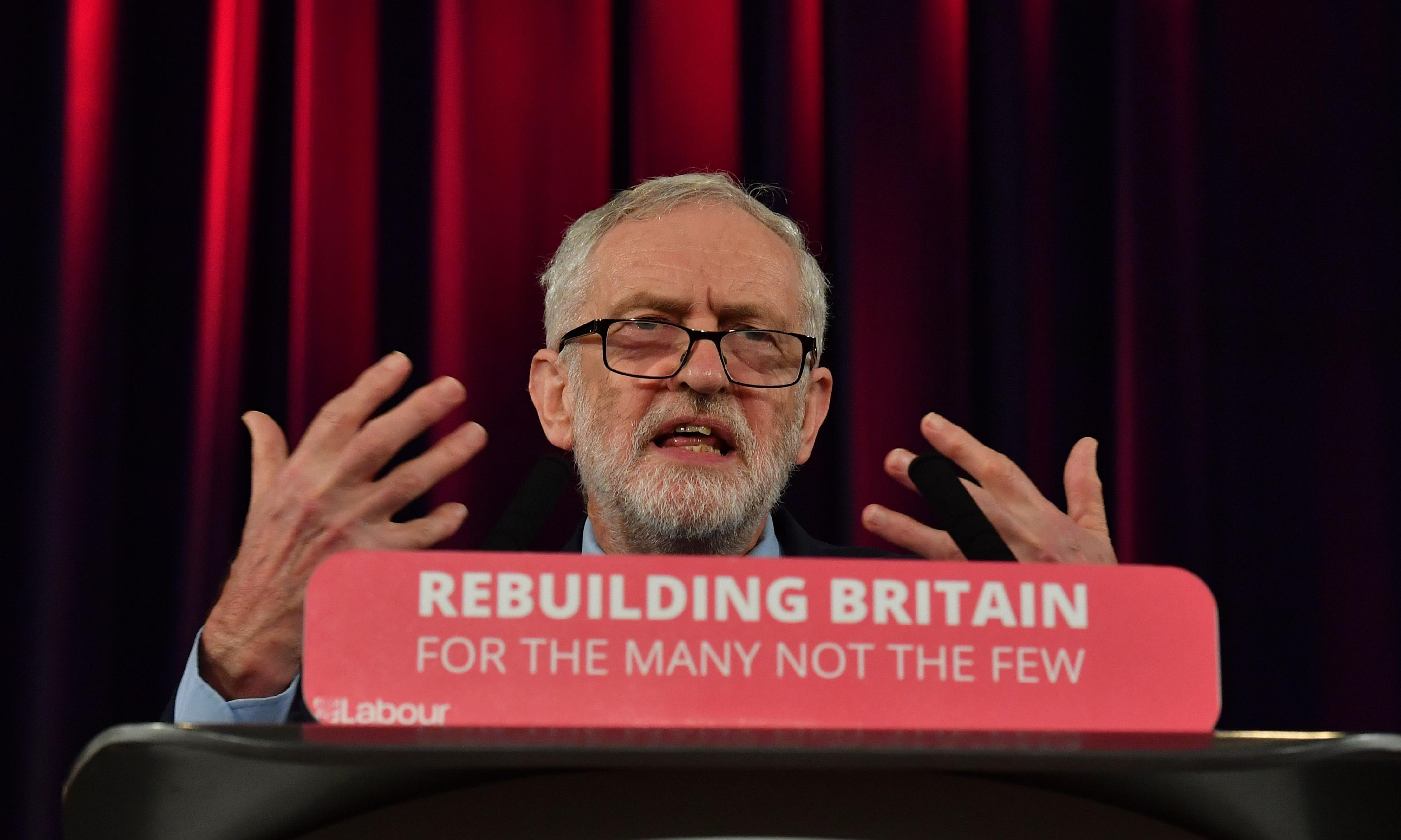Jeremy Corbyn expected to back move to block no-deal Brexit