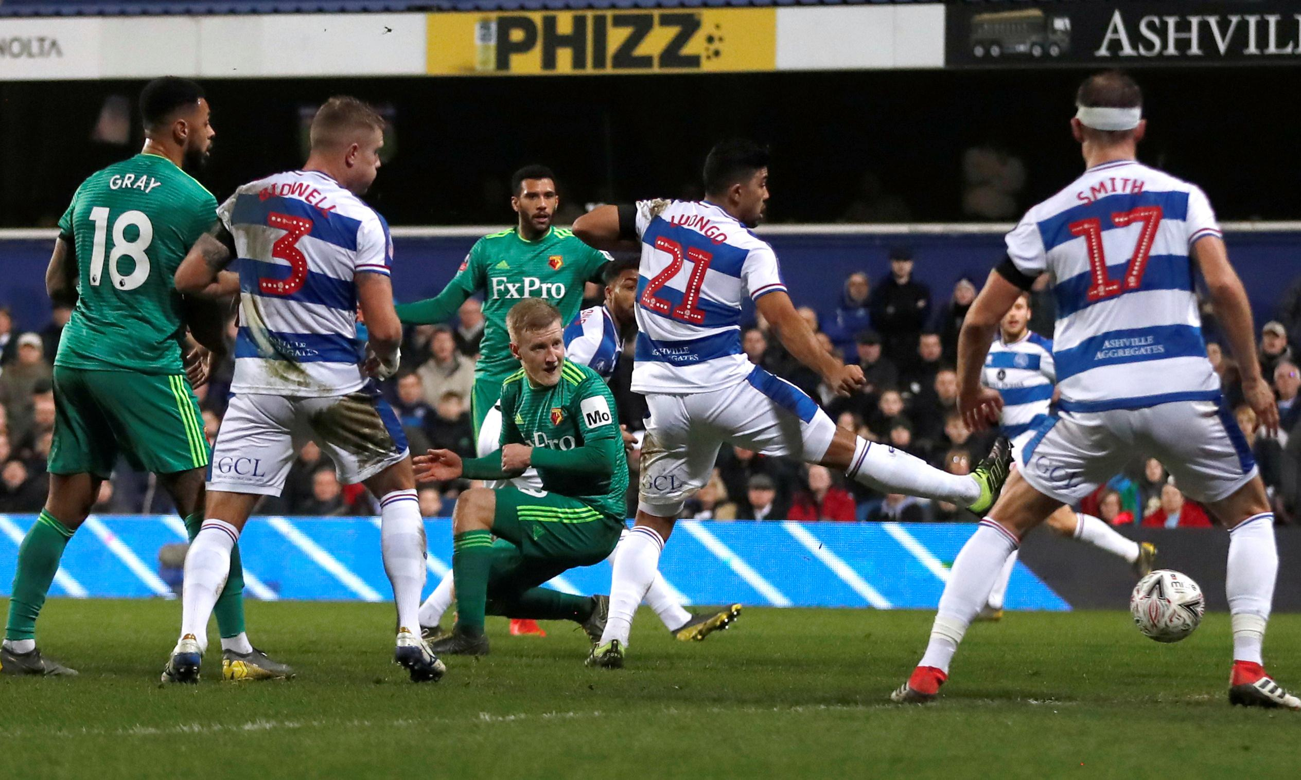 Étienne Capoue's strike for Watford leaves QPR to rue missed chances