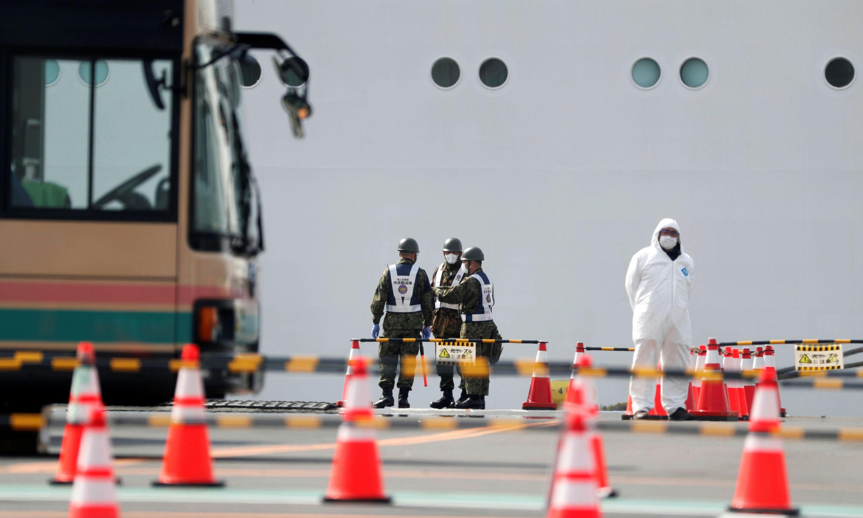 Coronavirus: two Diamond Princess passengers die as Japan defends quarantine