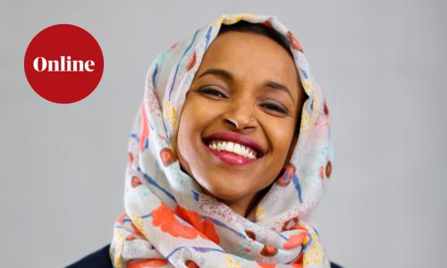 Guardian Live event in conversation with Ilhan Omar