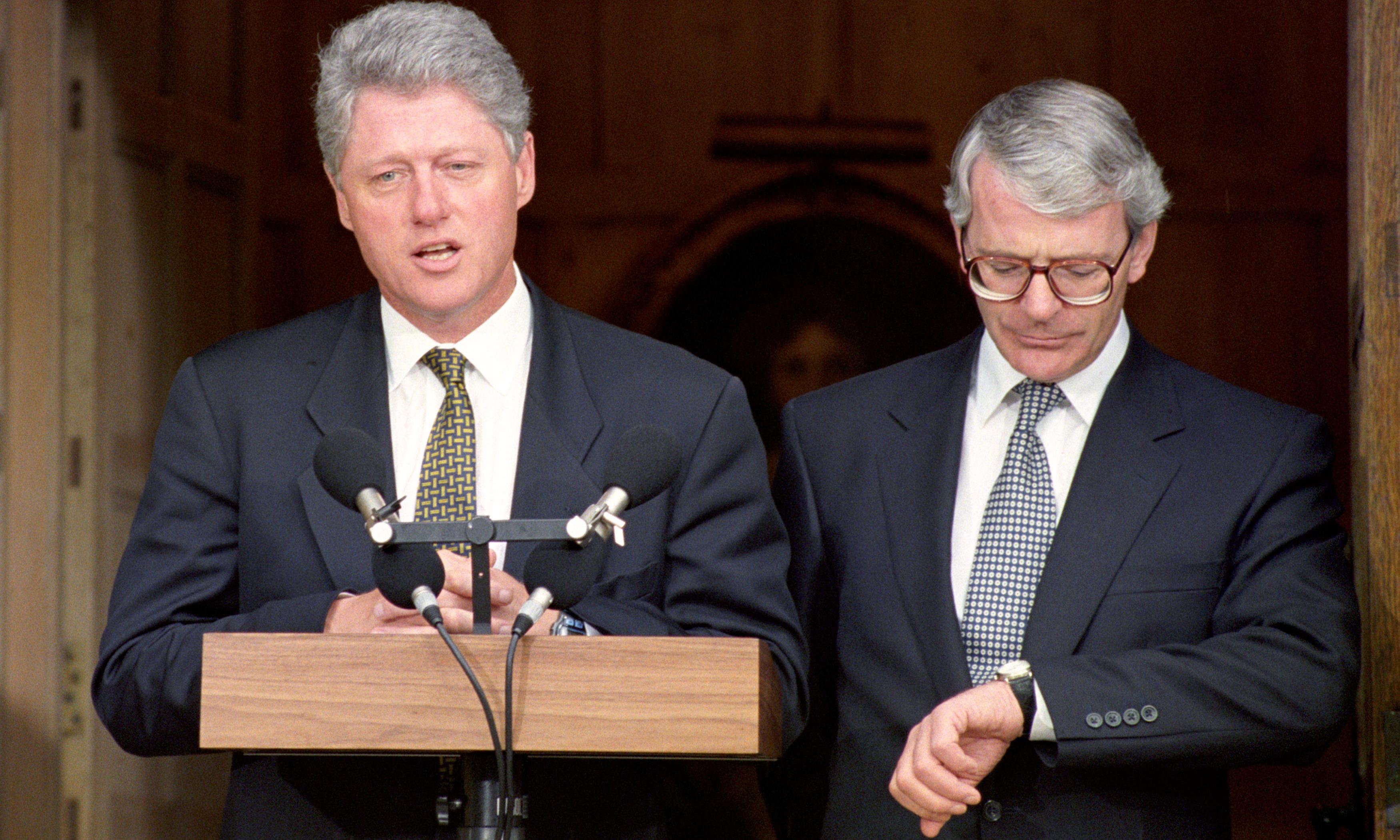 'Bill Clinton talks loudly, fails to act': envoys' barbed missives to John Major