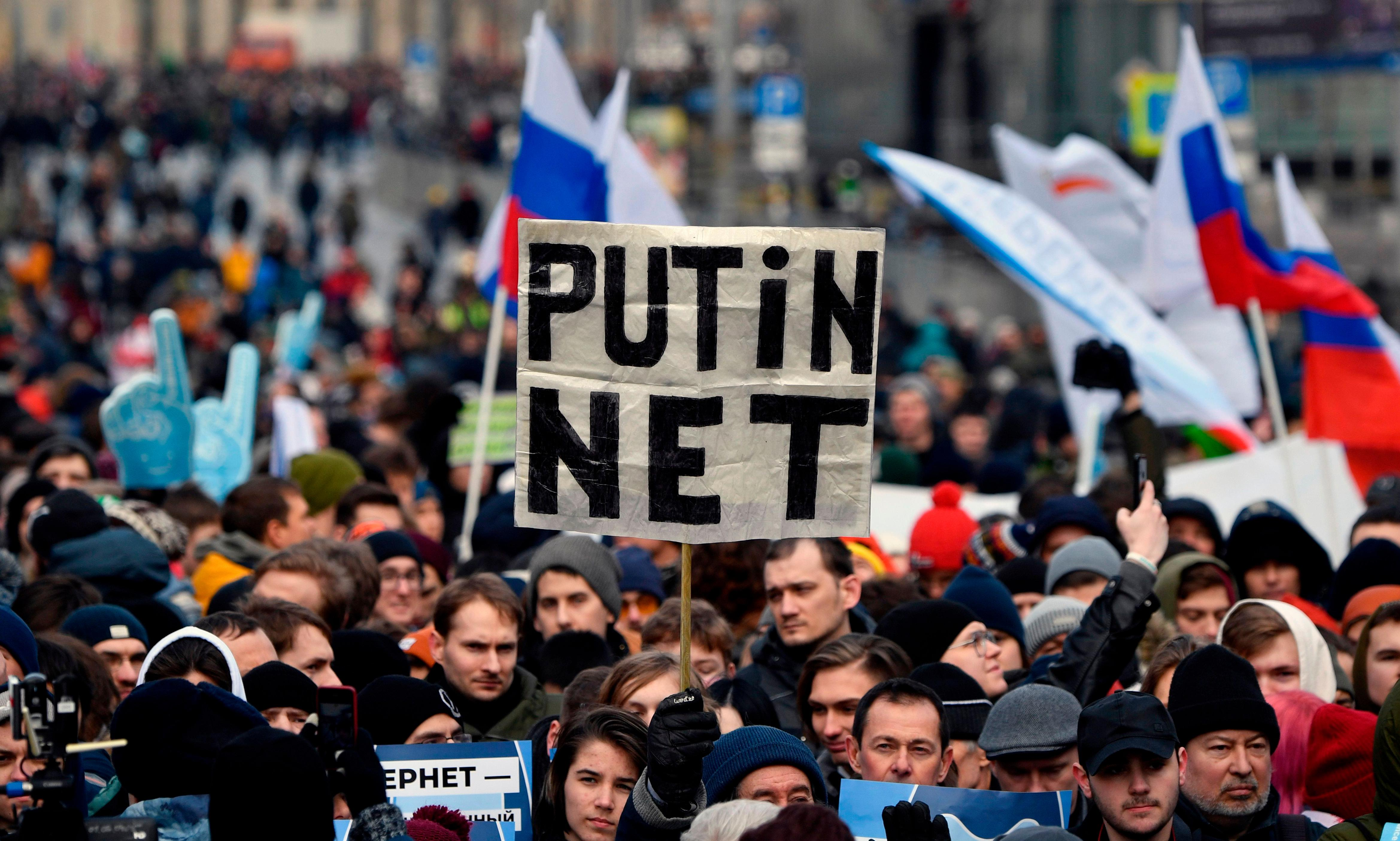 Russia's great firewall: is it meant to keep information in – or out?