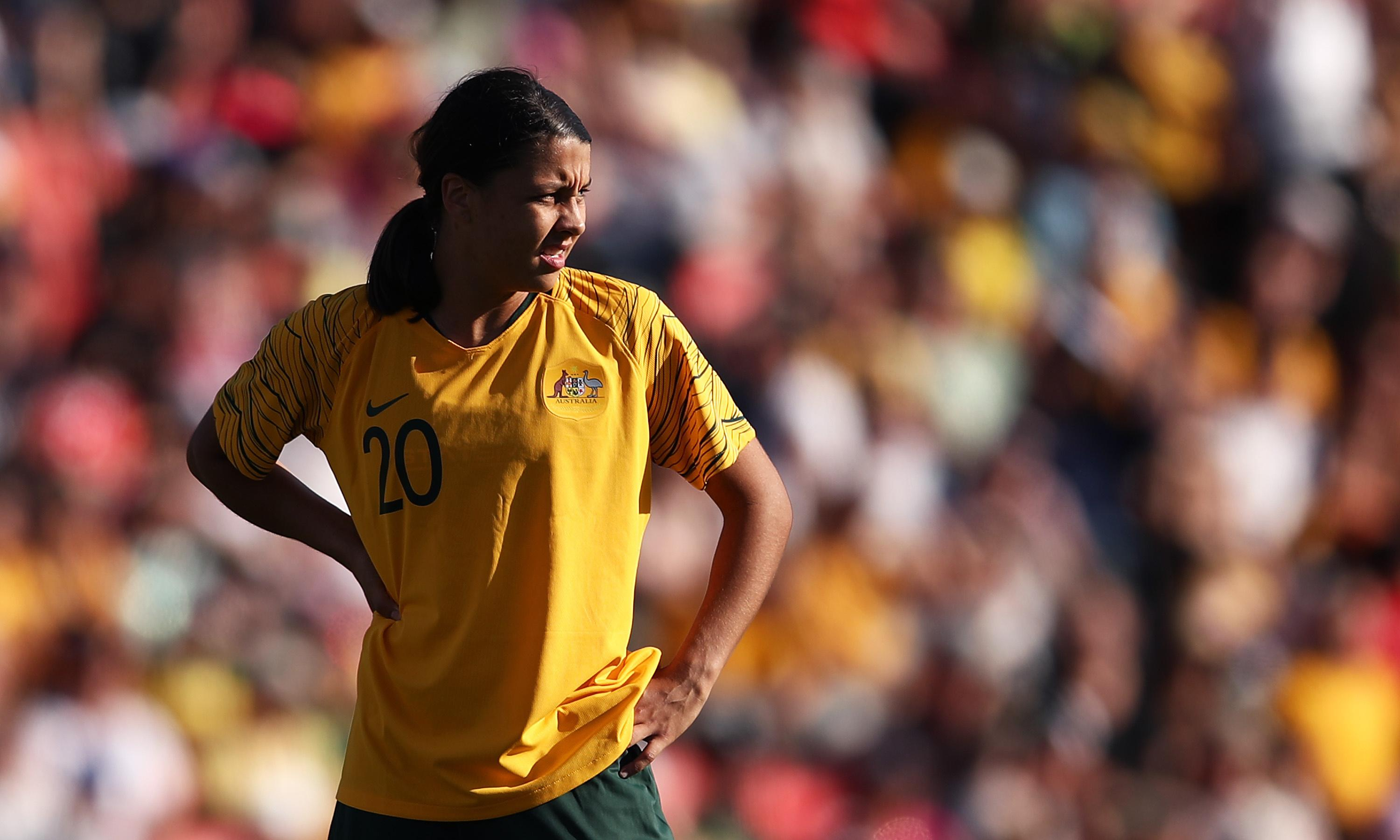 Sam Kerr: 'I was total crap in my first season as a footballer'