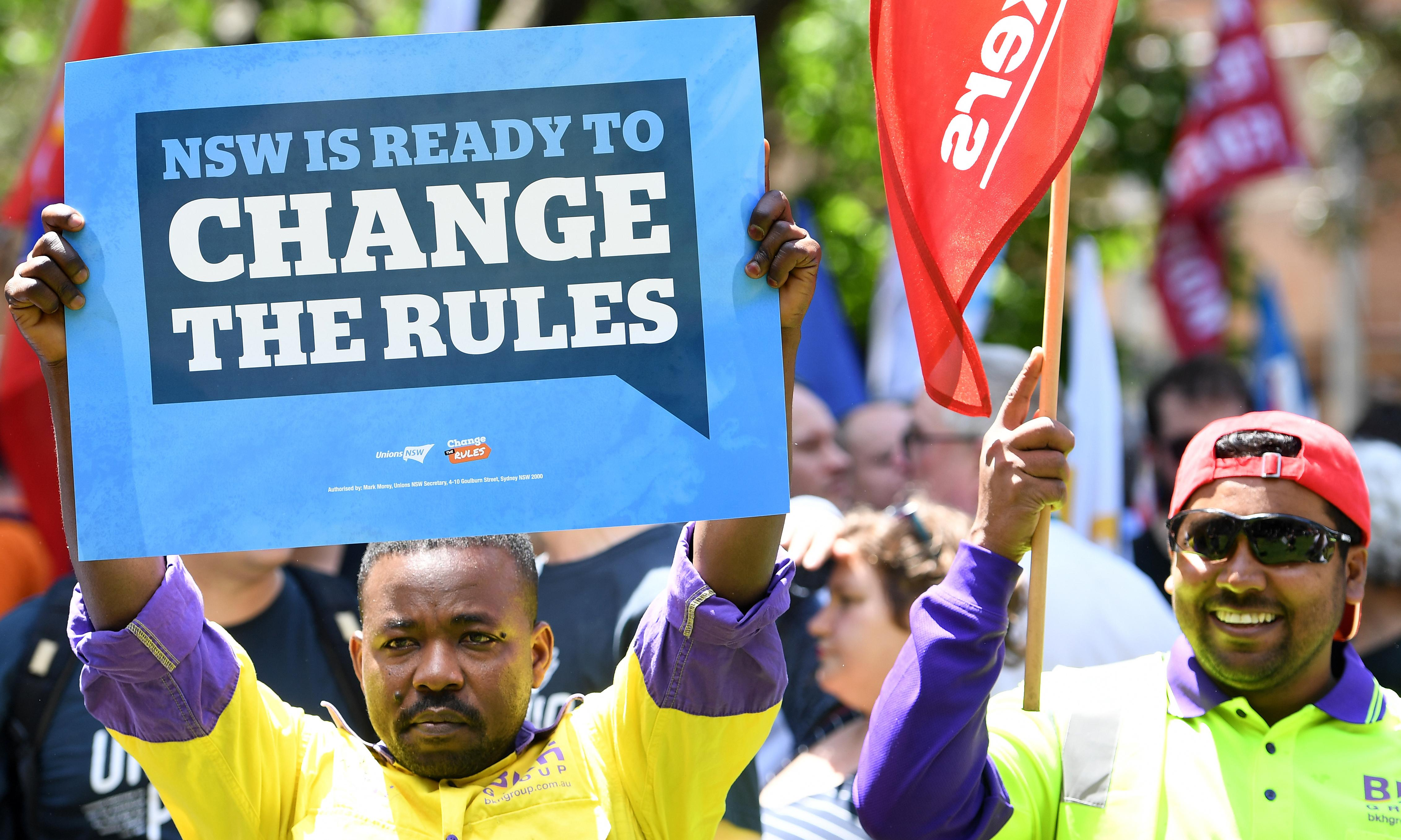 Election review finds unions had wrong slogan for right message