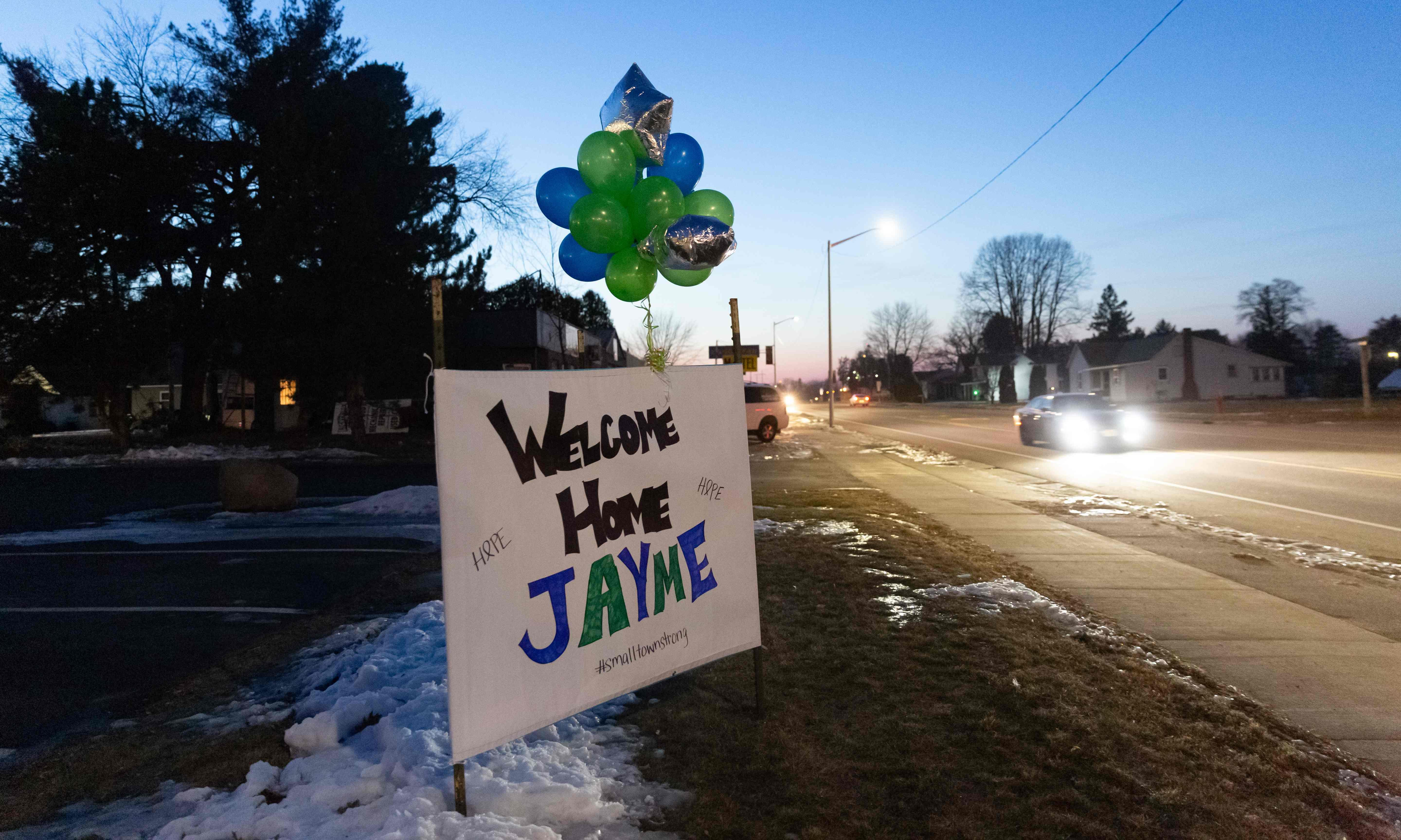 Jayme Closs: suspect warned her 'bad things could happen' if she was found