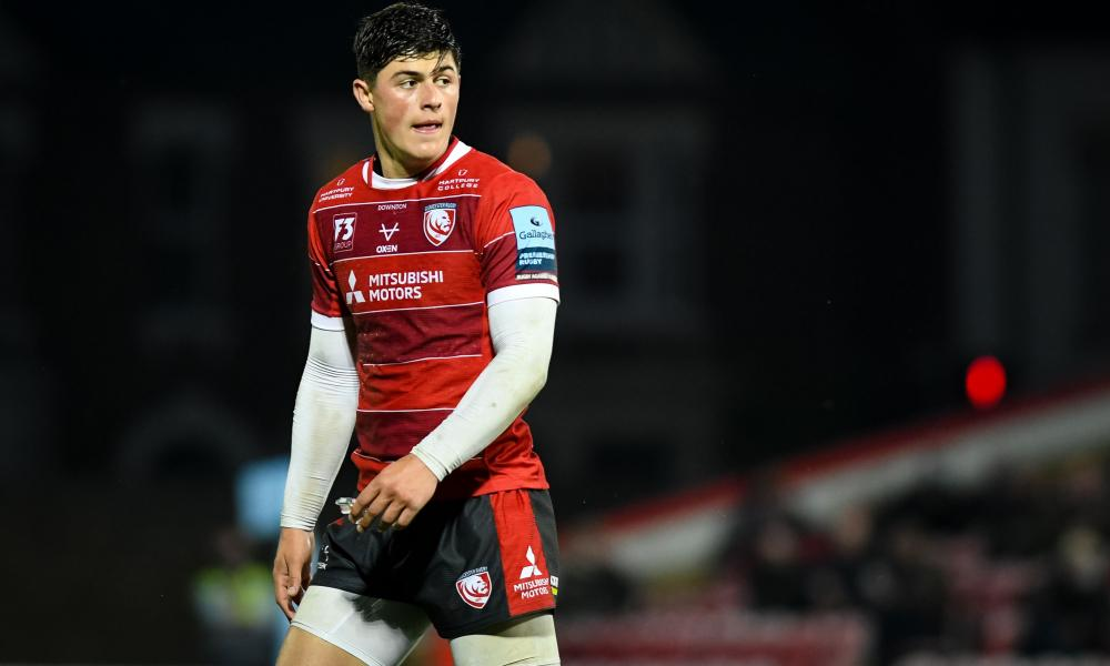 Louis Rees-Zammit can provide an attacking outlet for Gloucester
