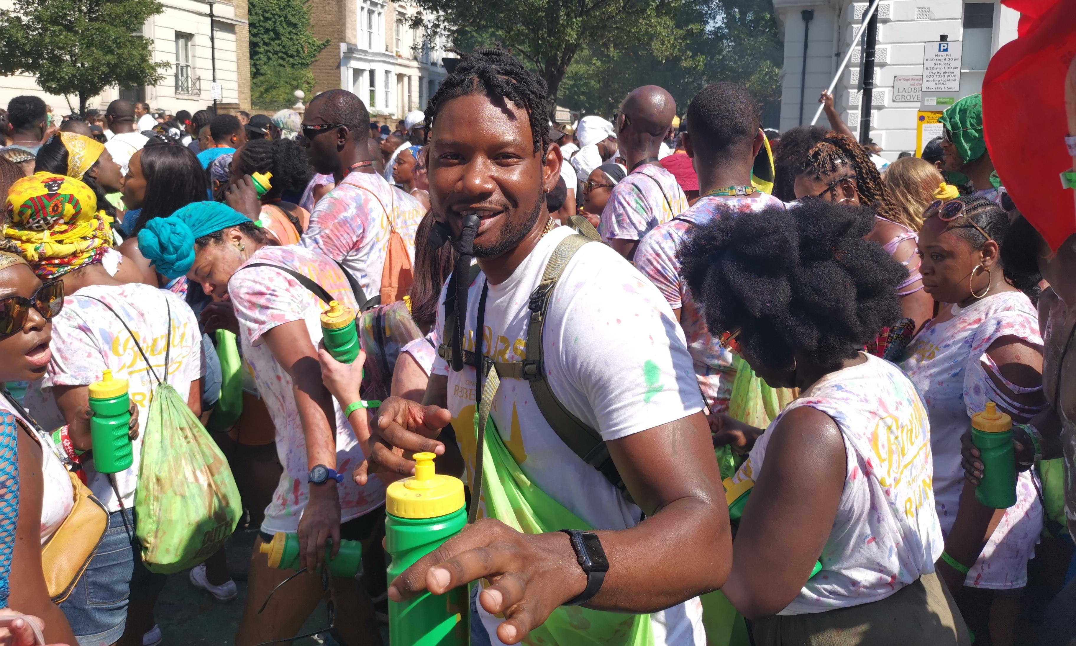 'Positive vibes all the way': partygoers revel in Notting Hill carnival