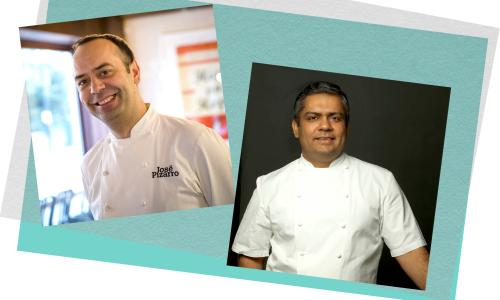 Jose Pizarro and Vivek Singh will be collaborating on a very special menu for Guardian Members
