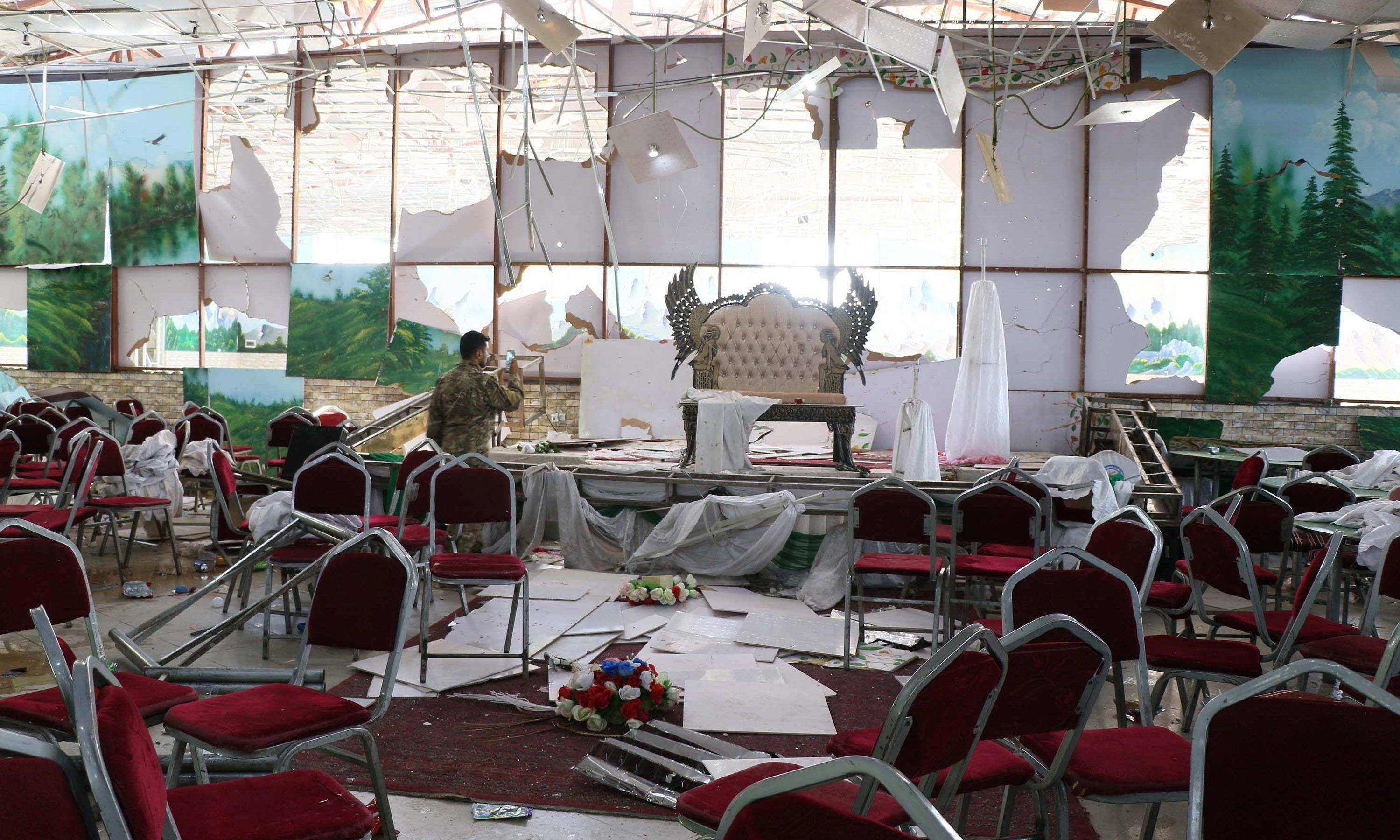 Islamic State claims responsibility for Kabul wedding hall blast